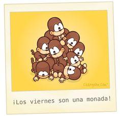 ¡Los #Viernes son una monada! #Citas #Frases @Candidman