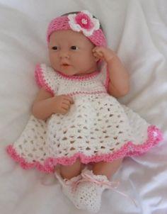 Crochet pattern for Berenguer 14 inch la newborn от petitedolls