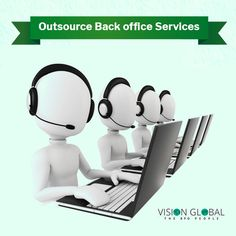 Vision Global BPO delivers customized back office processing services that combine process improvement and cost reduction with excellent service quality. Office Management, Process Improvement, Service Quality, Globe, Speech Balloon