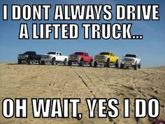 The official Diesel Brothers website. Find top diesel gear, clothing, parts, & enter for free diesel giveaways! Watch Diesel Brothers on the Discovery Channel. Lifted Chevy Trucks, Dodge Trucks, Pickup Trucks, Lifted Trucks Quotes, F150 Lifted, Truck Quotes, Truck Memes, Chevy Quotes, Funny Quotes