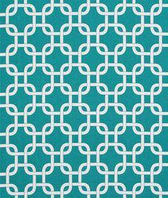 Premier Prints Gotcha True Turquoise Fabric