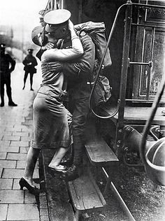 Despedida Primera Guerra Mundial.