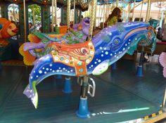 carousel+animals | Andy Fox's: Carousel Animals - King Triton's Carousel, DCA