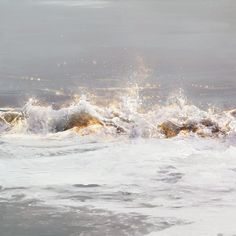 Mist of Gold Layer Paint, Canadian Artists, High Gloss, Mists, Waterfall, Waves, Landscape, Gallery, Artwork