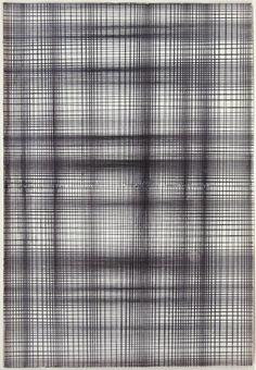 Zig Zag Black, 2010 by David Moreno  Drawing