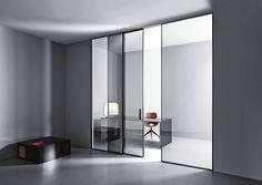Doppel-Glasschiebetür - SWING by Cortesi Design - Lualdiporte