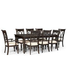 Dining Room Set  Macy's Augusta Dining Room Furniture Collection Fascinating Macys Dining Room Chairs 2018