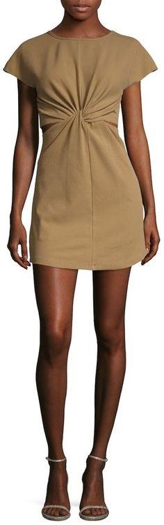 Torn By Ronny Kobo Women's Twist Flared Dress