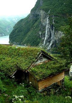 "lori-rocks: "" Geiranger fjord, Sunnmore, Norway…via pinterest """
