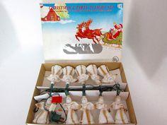 Christmas Tree Lights Angel Lights Vintage by ThePassionateFlea