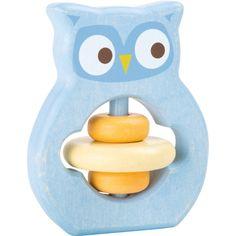 Baby's eerste speelgoed! Deze houten grijpspeelgoed uil van Small Foot is schattig om te zien en nodigt de kleine uit om op ontdekkingstocht te gaan Rubber Duck, Toys, Christmas, Cabbage, Products, Montessori Toys, Baby Rattle, Wood Toys, Manualidades