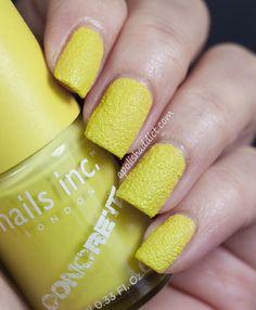 Brand: Nails Inc // Collection: Concrete Effect (2013) // Color: Monument // Blog: A Polish Addict