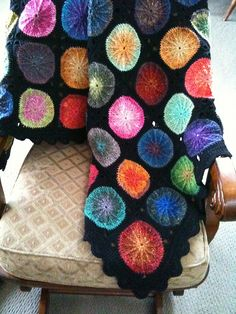 I love the colors here! #crochet