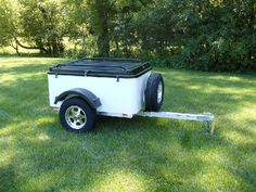Small Trailers - Lightweight, Small Tow Behind Trailers for Cars and Motorcycles. Camping gear?
