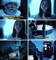 I love Doctor Who, it makes me feel like kid again, so full of wonderment