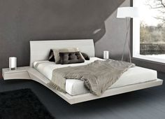 Mazzali Newport floating bed