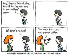 The Battle of the Backstory - Writers Write.