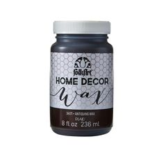Folkart Home Decor Wax 8 Oz Clear Products Home