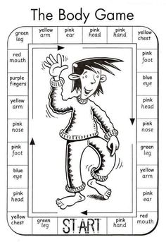 English Worksheets For ESL Teachers Teach English To Kids, Kids English, Teaching English, Learn English, Games In English, Teaching Spanish, English Resources, English Activities, English Lessons