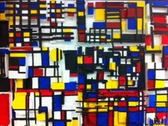 Room 9: Art!: Mondrian In Low Relief  WOWOWOW!