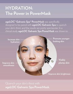 Galvanic Spa PowerMask Is Here! – Glams Most Wanted Galvanic Facial, Ageloc Galvanic Spa, Anti Aging Facial, Anti Aging Skin Care, Anti Aging Night Cream, Anti Aging Moisturizer, Anti Aging Treatments, Skin Care Tools, Nu Skin