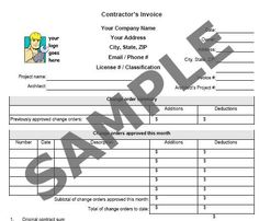 construction+company+invoice+examples | Construction Work Invoice