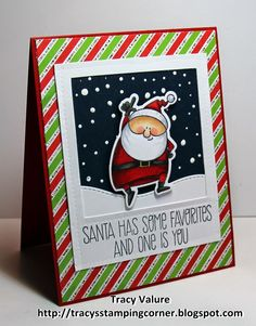 Tracy's Stamping Corner: Santa's Favorites!