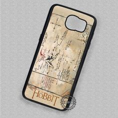 An Unexpected Journey Thorin's Map Hobbit - Samsung Galaxy S7 S6 S5 Note 7 Cases & Covers