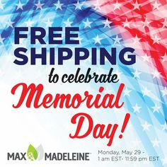 Grab your Max & Madeleine today with Free shipping!