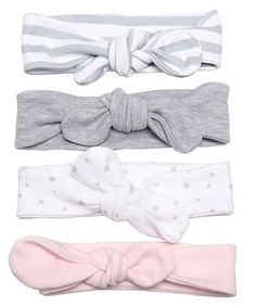 This little headband is just the right accessory to complete an outfit.Available in a variety of colours and patterns. Just tie around your baby's head so it will always fit comfortably. Little Bow, Summer Baby, Baby Headbands, Bows, Colours, Tie, Synthetic Fibres, Pattern, Cotton