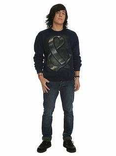 Of Mice & Men Metal Ampersand Crewneck Sweatshirt   Hot Topic