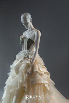 蘿亞手工婚紗 Royal handmade wedding dress 婚紗攝影 量身訂做 訂製禮服