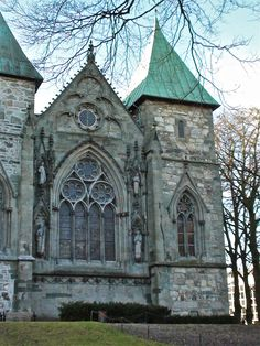 Stavanger Cathedral- Stavanger, Norway Norway Viking, Norway Oslo, Places Around The World, Around The Worlds, Places To Travel, Places To Visit, Stavanger Norway, Beautiful Norway, Church Pictures