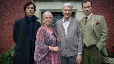 Exclusive: Sherlock and Mycroft Holmes with their parents (Played by Benedict Cumberbatch's Real Parents)