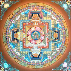 Green tara mandala, by amir lama tibetan mandala, tibetan art, tibetan bu. Tibetan Mandala, Tibetan Art, Tibetan Buddhism, Buddhist Art, Mandala Design, Mandala Pattern, Mandala Art, Mandalas Painting, Mandalas Drawing