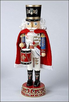 This looks like a Swiss  Nutcracker Soldier to me, for some reason.