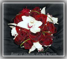 Black magic rose elegant