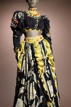 Costume from Katherine Dunham's performance of Tropics. Missouri History Museum