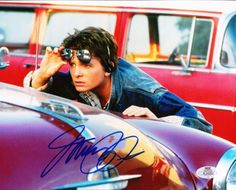 """Still of Michael J. Fox as Marty McFly in """"Back To The Future."""""""