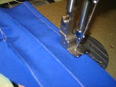 How to SEW PERFECT TOPSTITCHING:  Easy sewing projects get even easier when you know how to make perfect topstitching. This is another sewing tutorial that will take your sewing projects up to the next level and make everything look professional.