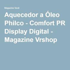 Aquecedor a Óleo Philco - Comfort PR Display Digital - Magazine Vrshop