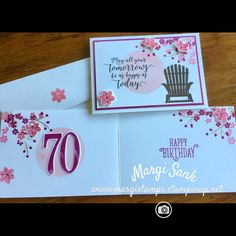 The SU Colour Theory Suite... and making the inside be very versatile ....it become a special birthday card.