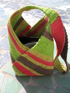 15 Free Crochet & Knitting Bag Patterns