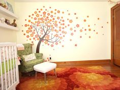 cute idea for a children's room- easy to paint too.