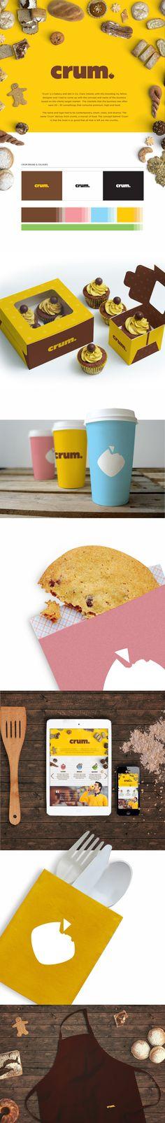 Crum Bakery and Delicatessen on Behance