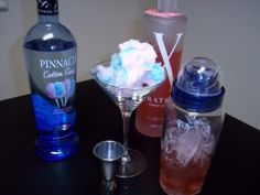 The Best Cotton Candy Martini Recipe  Going to be trying this at Courtney & Josh's wedding reception.