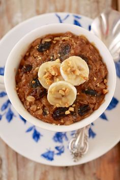Breakfast Cookie in a Mug- The ultimate breakfast mug recipe that is healthy and packed full of all natural ingredients to kick start your day