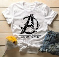 Outfitday Endgame America T-Shirt - Endgame America T-Shirt - Marvel Avengers Shirt, Marvel Avengers, Marvel Shirt, Avengers Women, Disney Outfits, Cute Outfits, Disney T Shirts, Marvel Fashion, Marvel Clothes