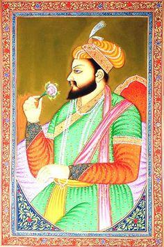 Shah Jahan I (1592-1666) fue el constructor del Taj Mahal, hijo del Emperador Jahangir