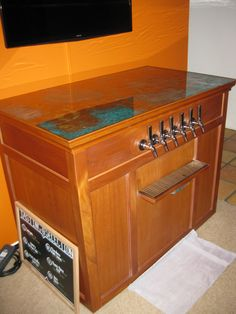 Keezer for the homebrew!